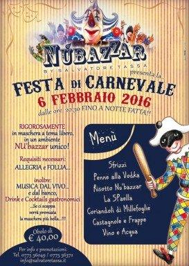 Carnevale al Nu'Bazzar