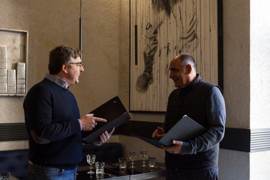 Clemente Quaglia e Paolo Falchi