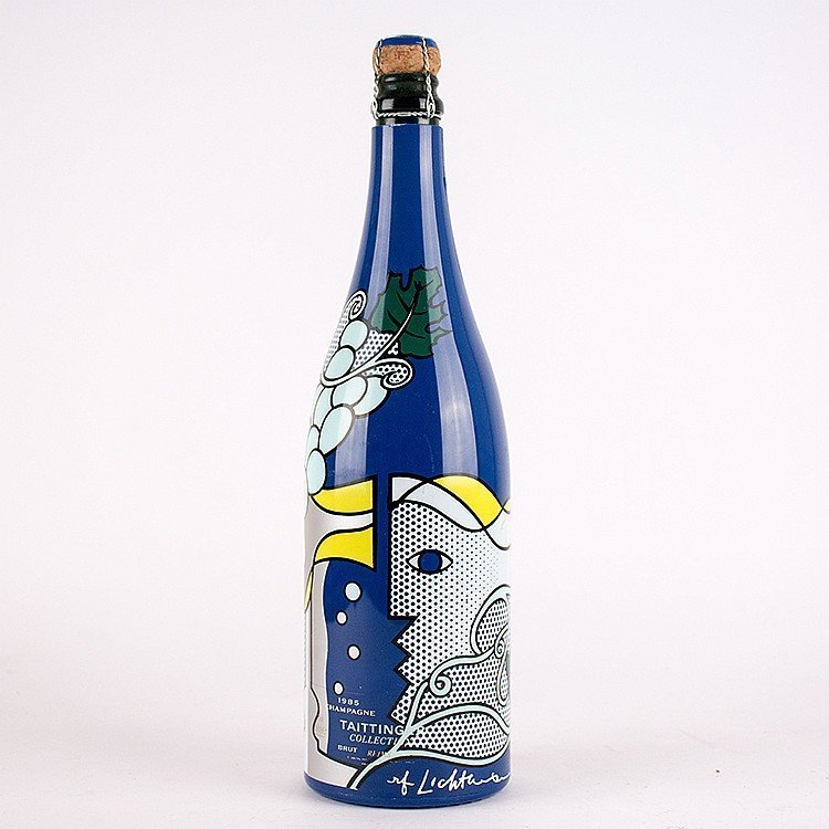 Lot 229 Taittinger Champagne Collection by Roy Lichtenstein