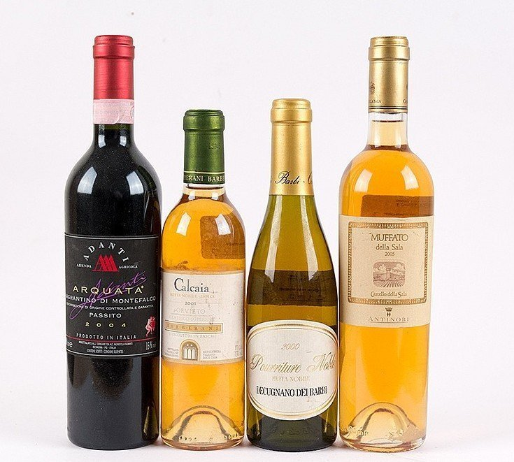 Lot 252 Collezione vini dolci dall'Umbria