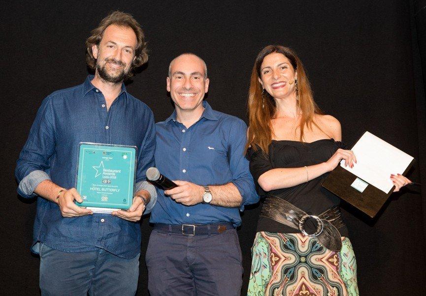 Daniele Quattrini con Giampaolo Trombetti di Giampa Tv e Chiara Giannotti