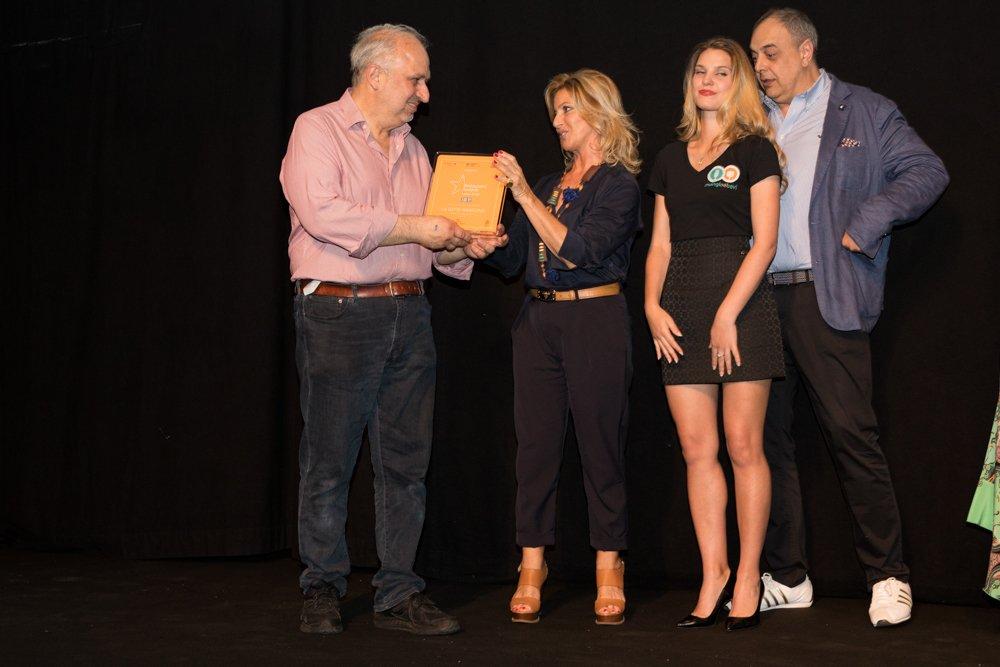 Il Vincitore Giancarlo Casa di La Gatta Mangiona con Annamaria d'Anna e Vincenzo Pagano di Scatti di Gusto
