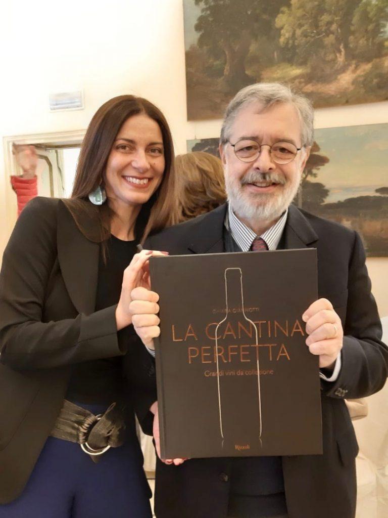 Chiara Giannotti con Daniele Cernilli