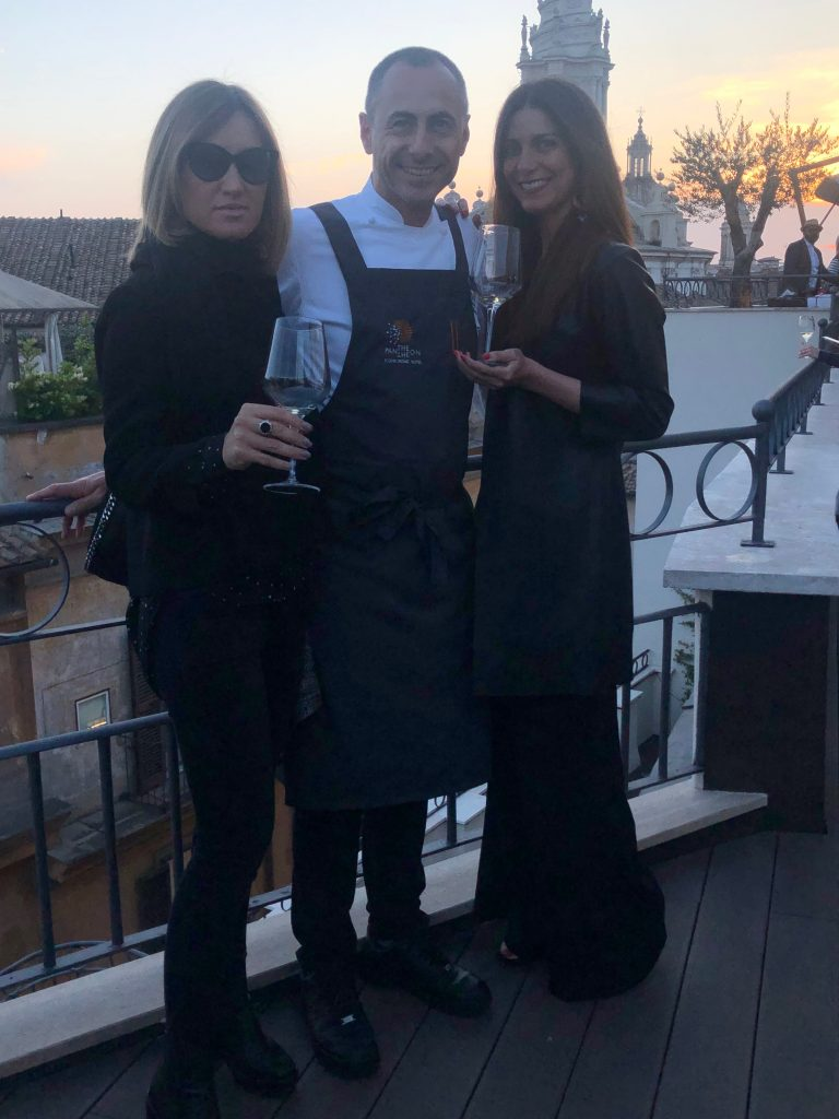 Livia Belardelli, Chef Francesco Apreda e Chiara Giannotti