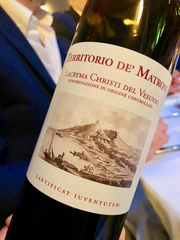 Cantine Matrone, territorio de' Matroni, Vesuvio Lacryma Christi Rosso Doc 2016
