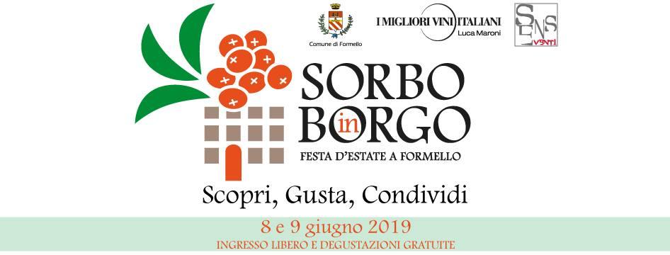 INVITO SORBO IN BORGO 8-9 GIUGNO 2019