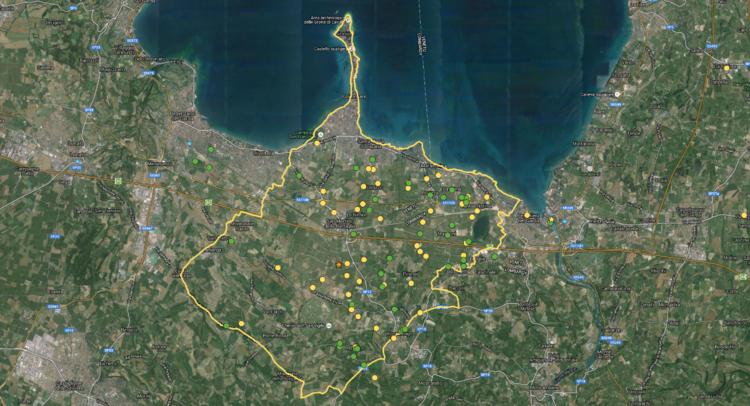 I confini della DOC Lugana
