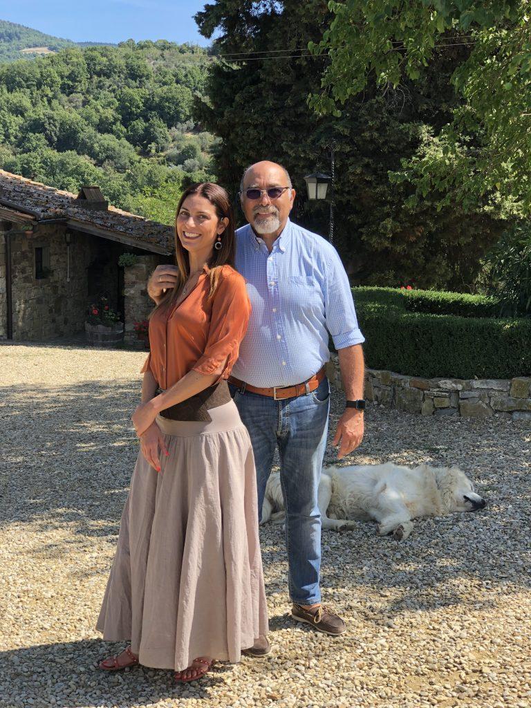 Chiara Giannotti con Giovanni d'Orsi (Casaloste)