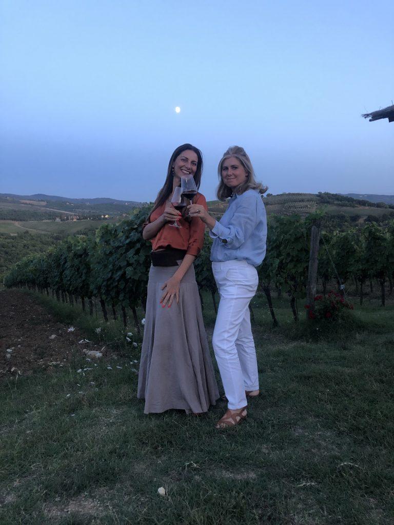 Chiara Giannotti con Monia Piccini (Il Palagio)