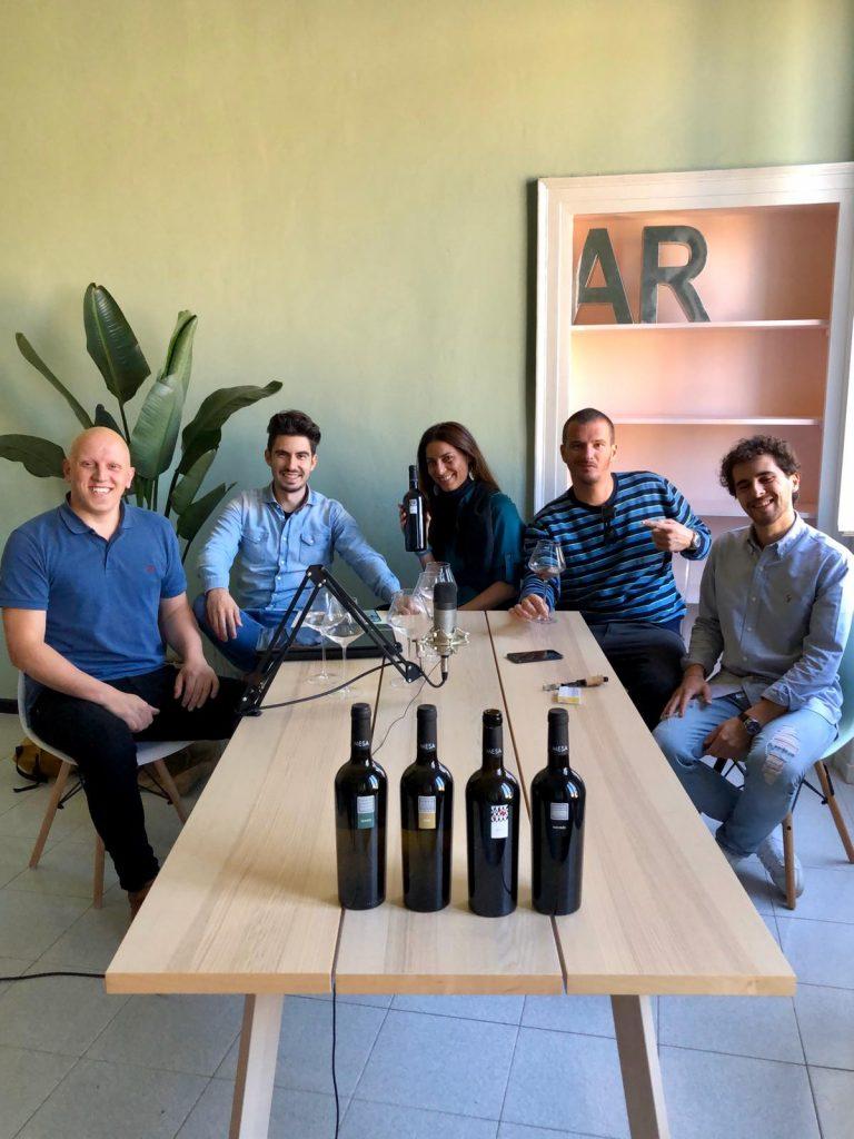 Video Intervista Mesa con Cantina Social, Enoblogger, Vino.Tv e Italian Wines