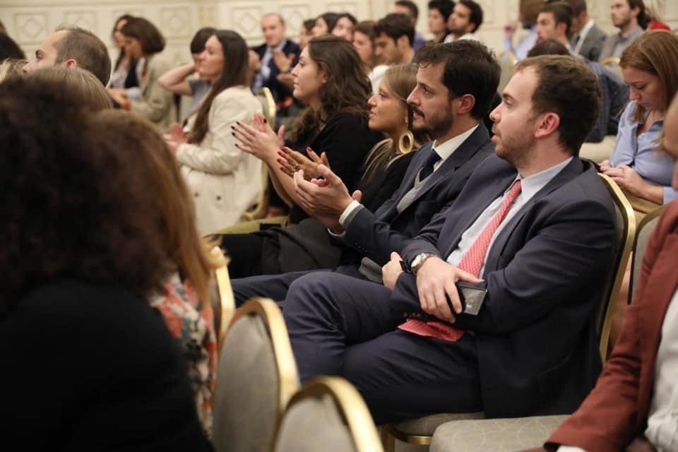 Platea di oltre 100 giovani under 40 al WGF