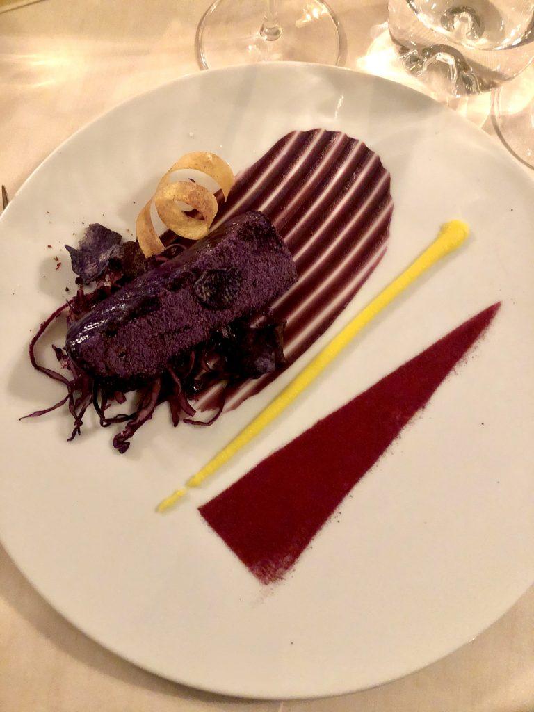 Centrofolo Viola, con patate, cavolo cappuccio e limone Marocchino