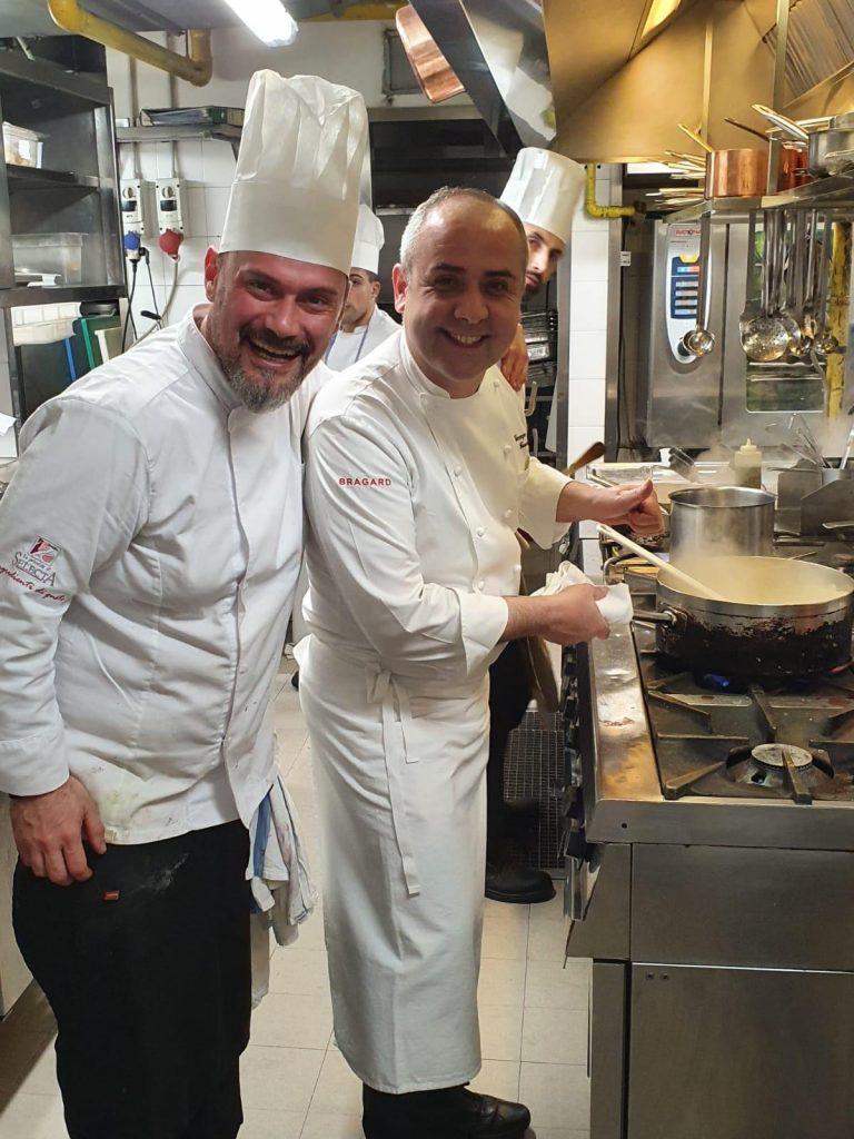 Chef Stefano Marzetti e Chef Vincenzo Guarino