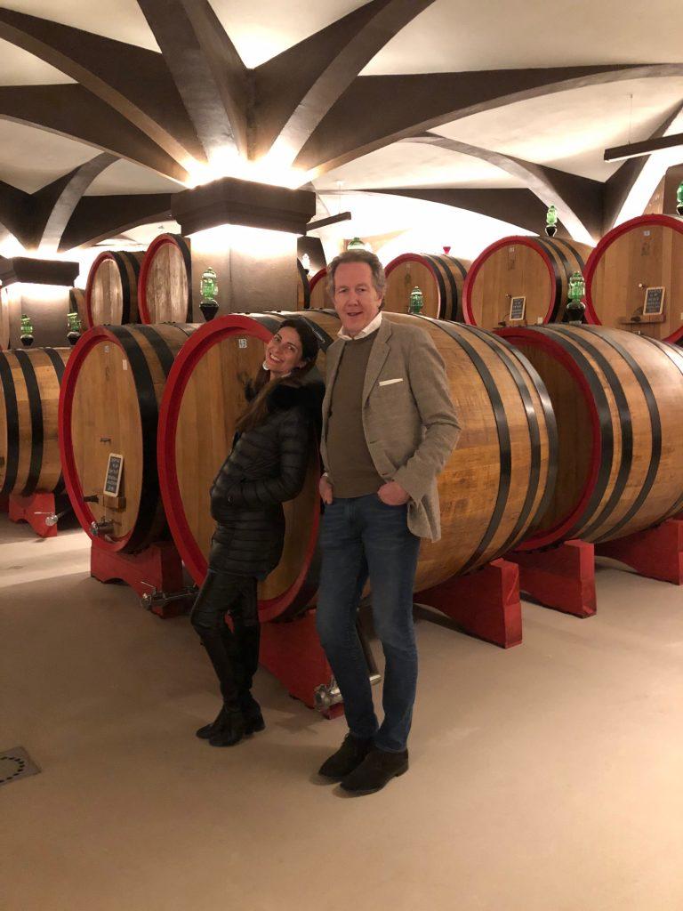 Chiara Giannotti con Stefano Ca