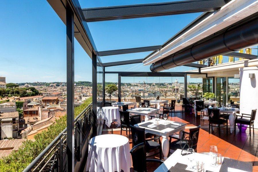 GIUDA BALLERINO - RESTYLING SALA ESTERNA - HOTEL SINA BERININI BRISTOL ROMA