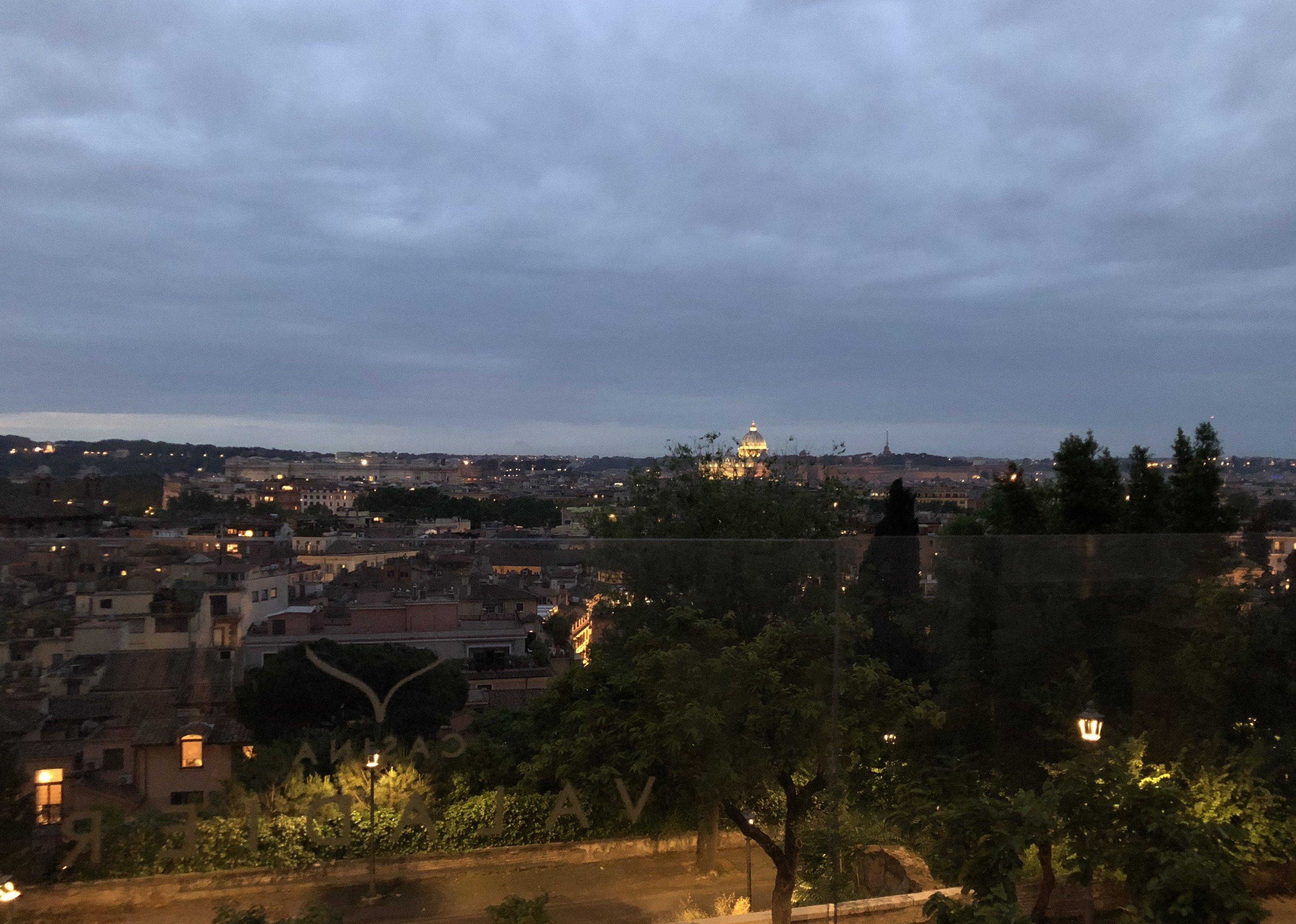 La vista su Roma della Casina Valadier