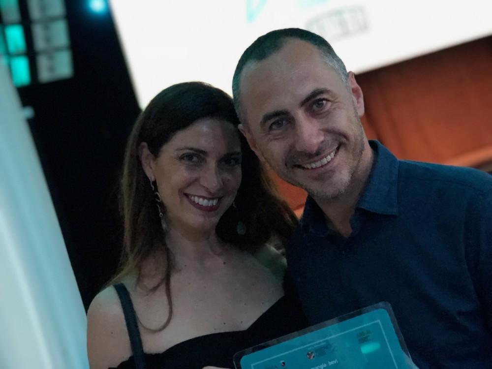 Imago Restaurant con l'Executive Chef Francesco Apreda e la presentatrice Chiara Giannotti