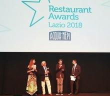 Tutti i premi dei Restaurant Awards Lazio 2018