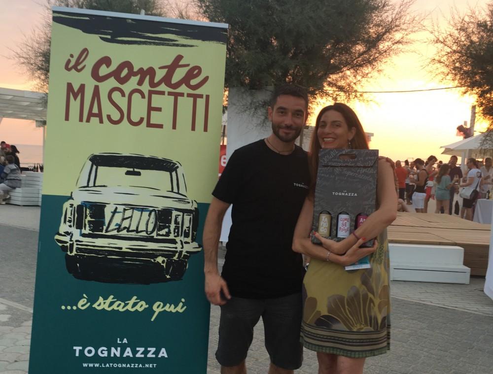 Chiara Giannotti con la Cantina la Tognazza di