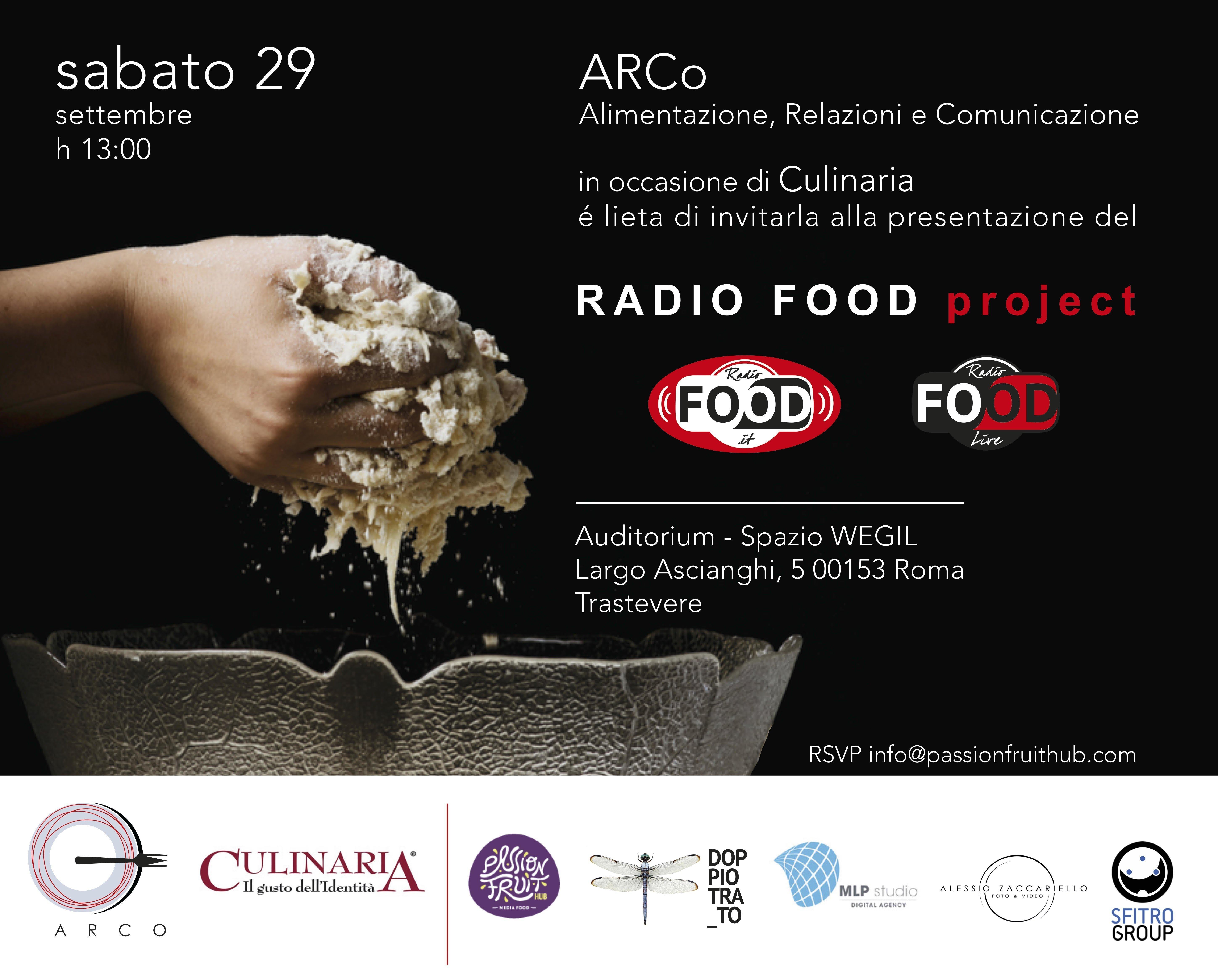 Presentazione presso evento Culinaria
