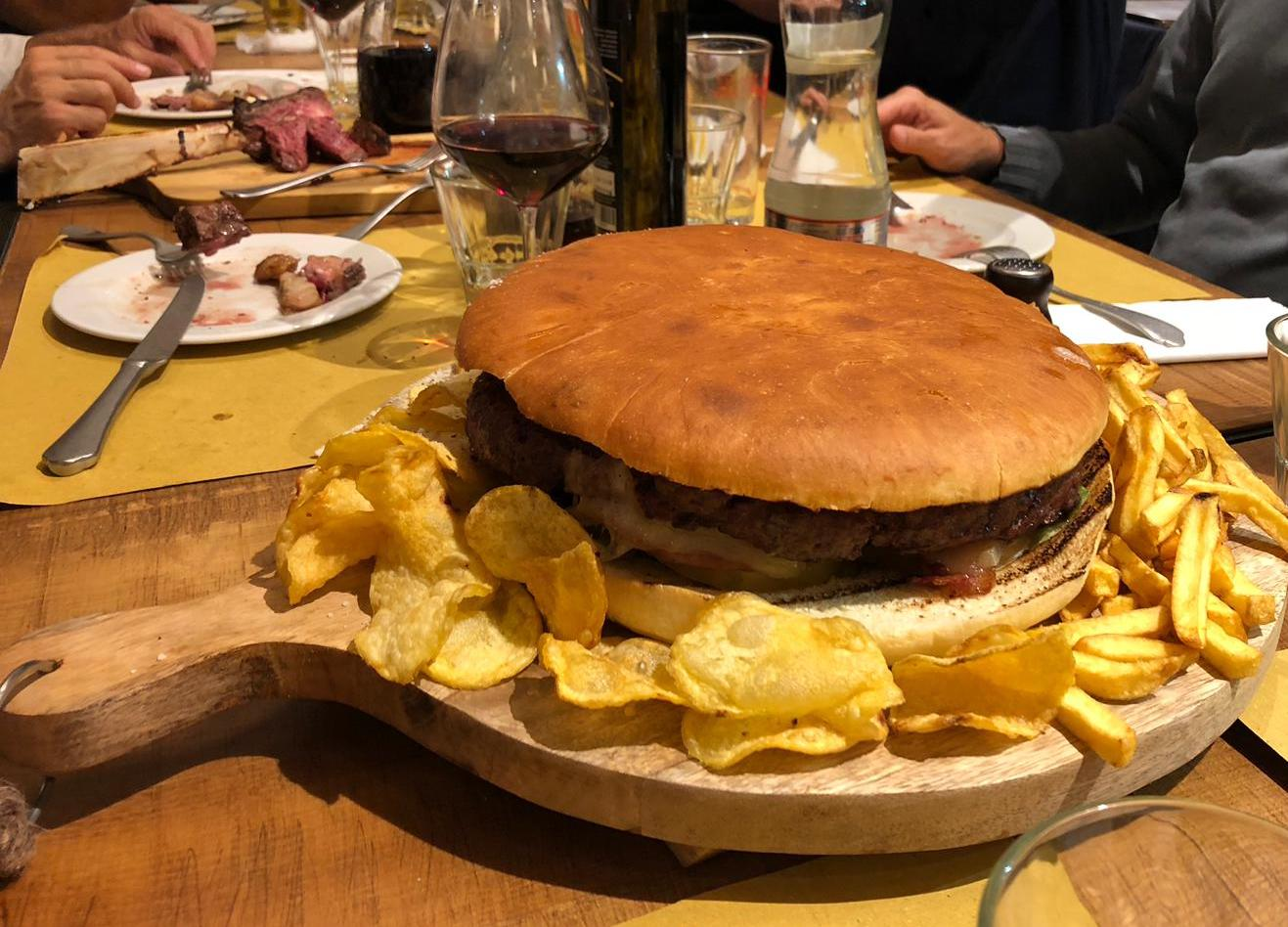 Il mega Hamburger!