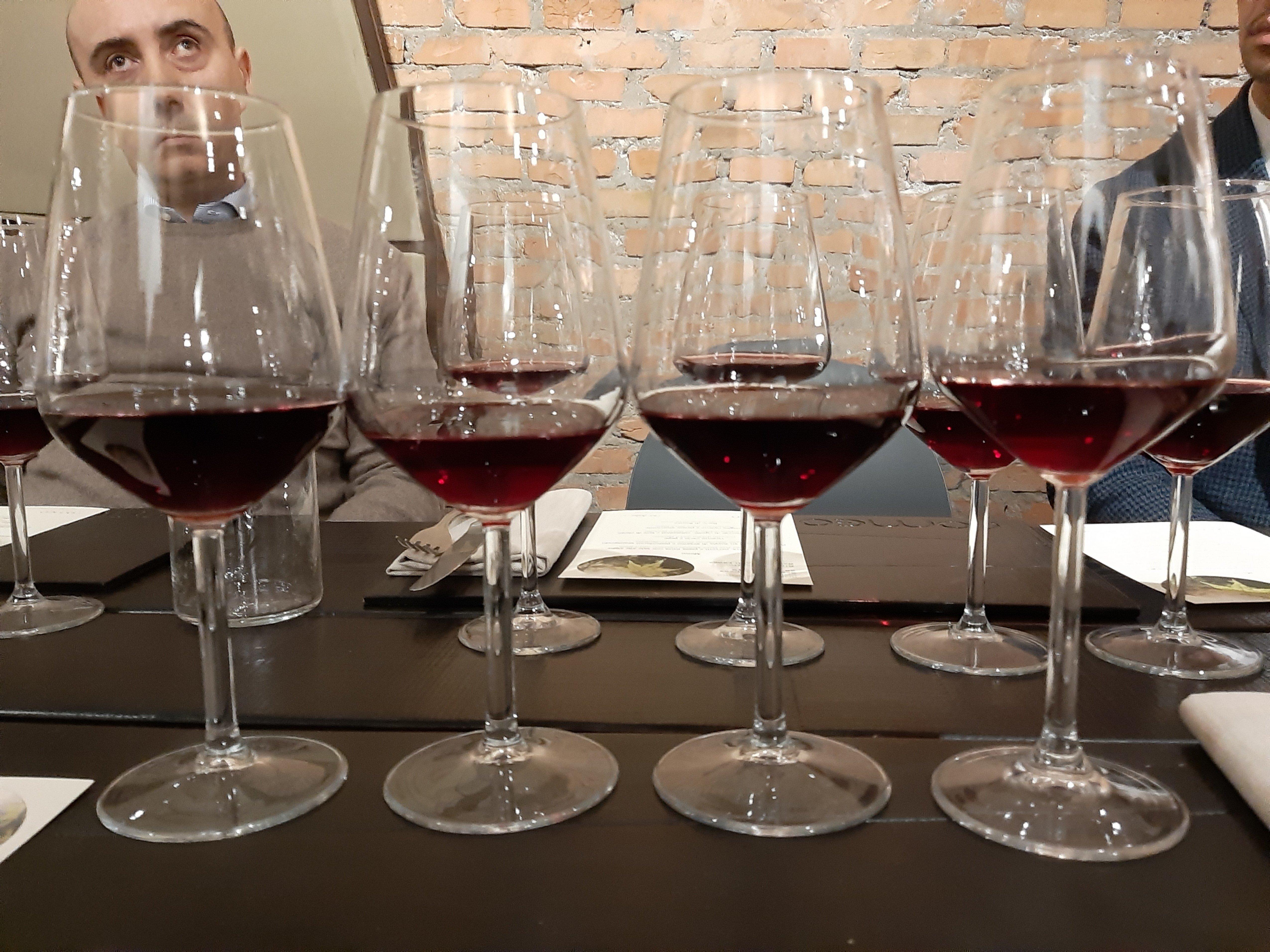 I primi quattro vini
