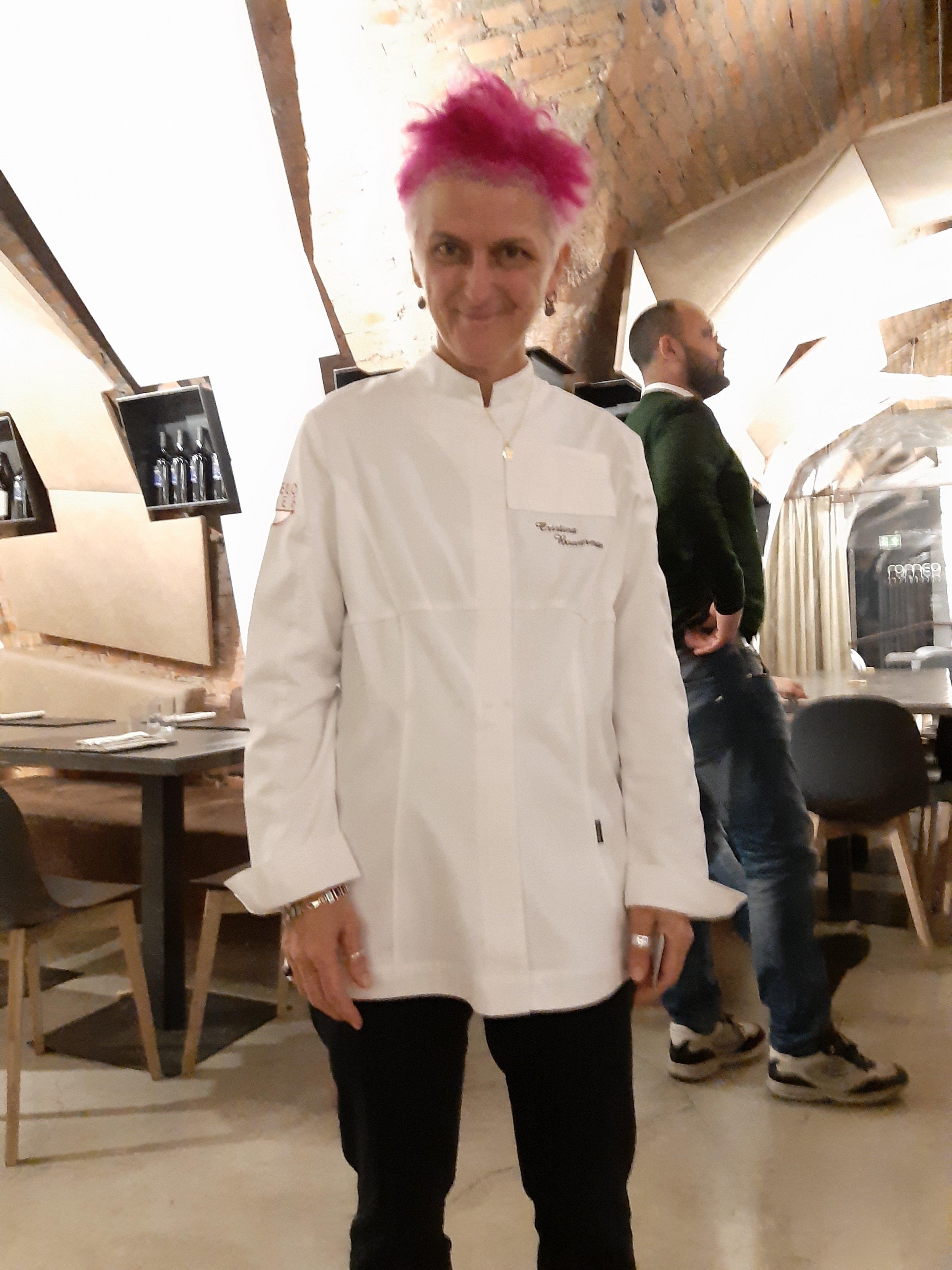 La Chef Cristina Bowerman
