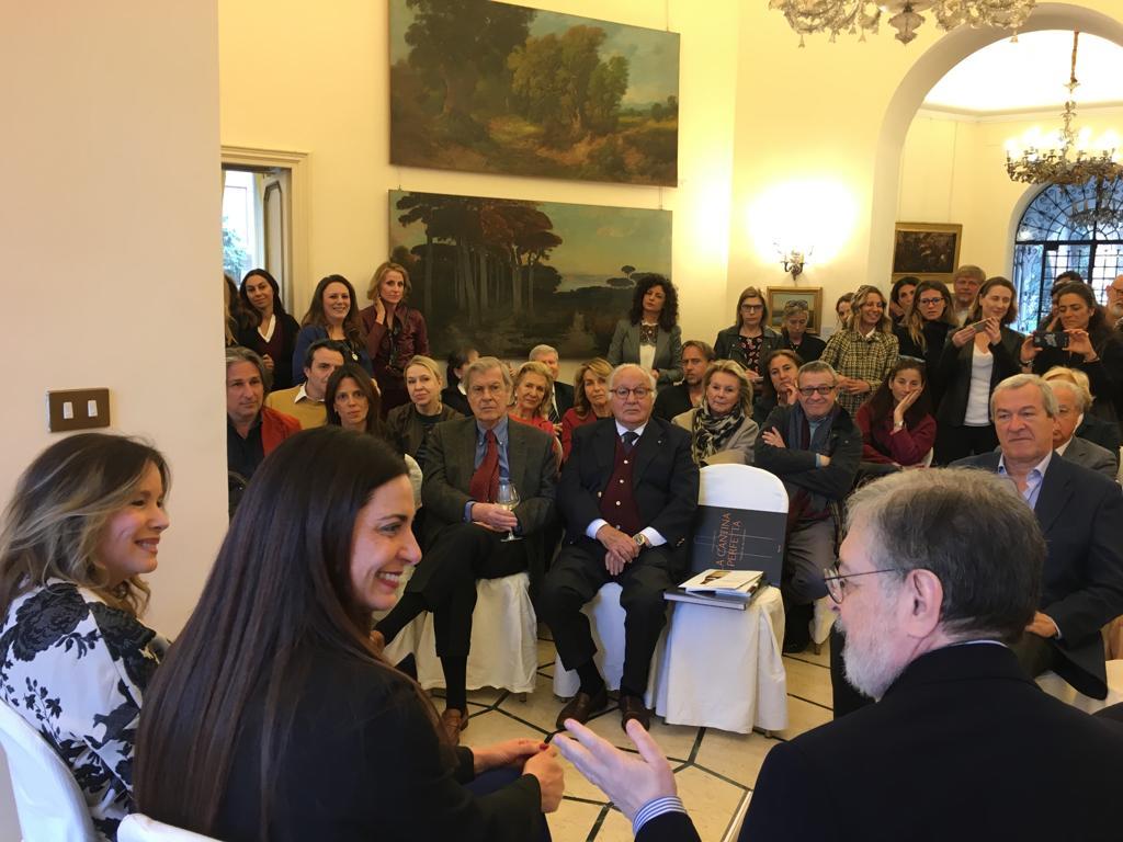 """Presentazione libro """"La Cantina Perfetta"""" presso Villa Mercadante a Roma"""