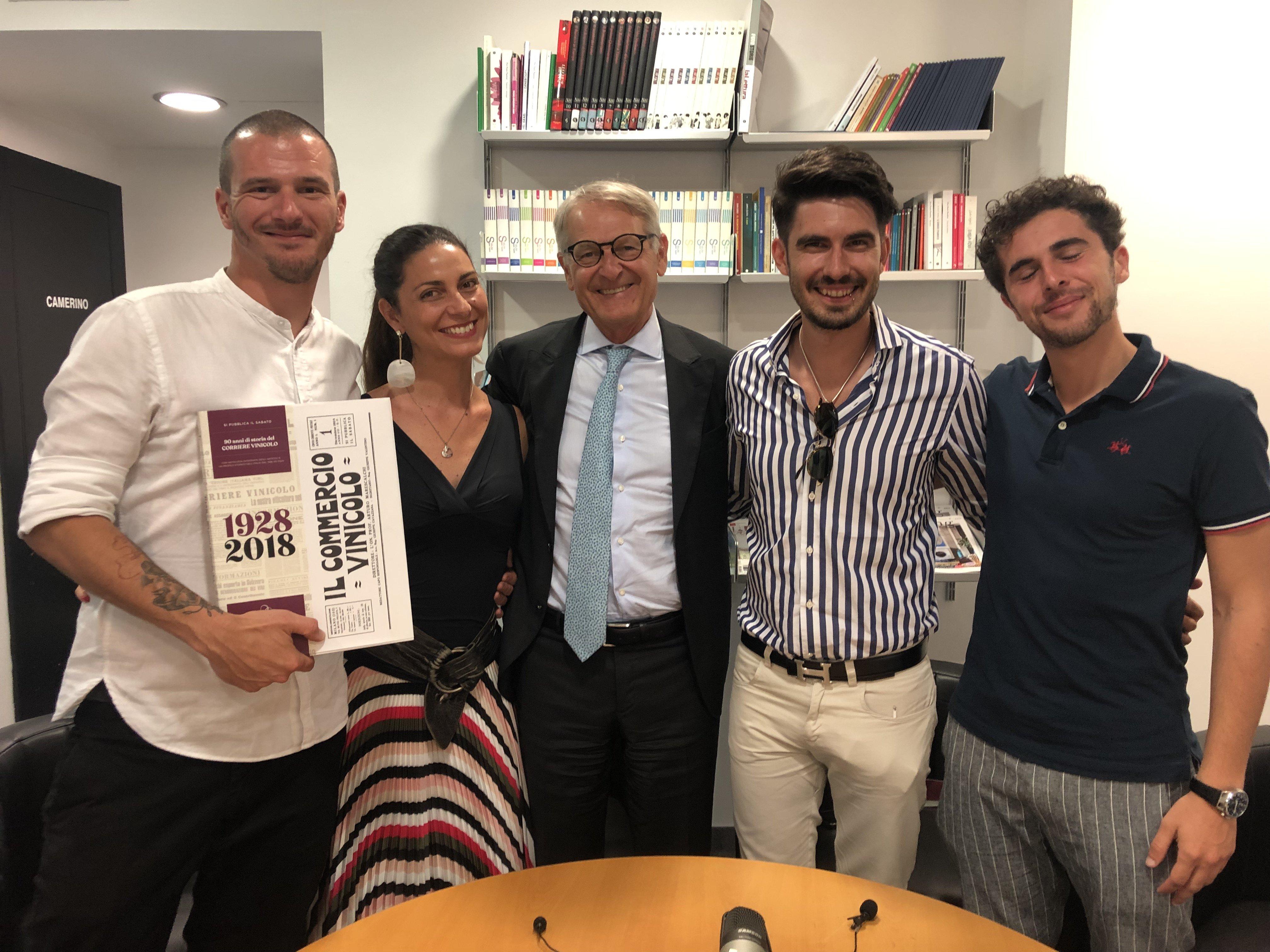 Adriano Amoretti, Chiara Giannotti, Ernesto Abbona, Emanuele Trono, Stefano Quaglierini