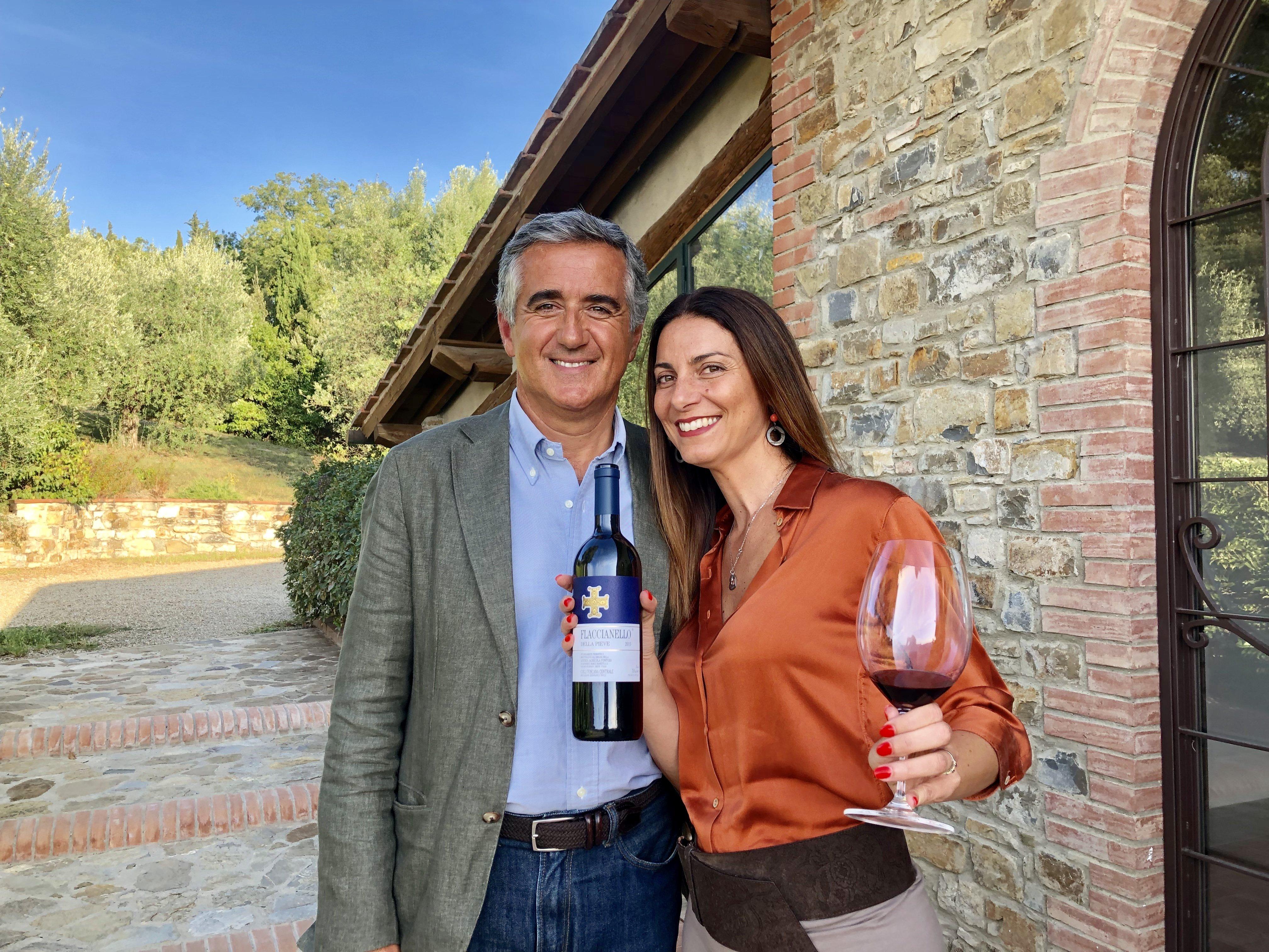 Chiara Giannotti con Giovanni Manetti