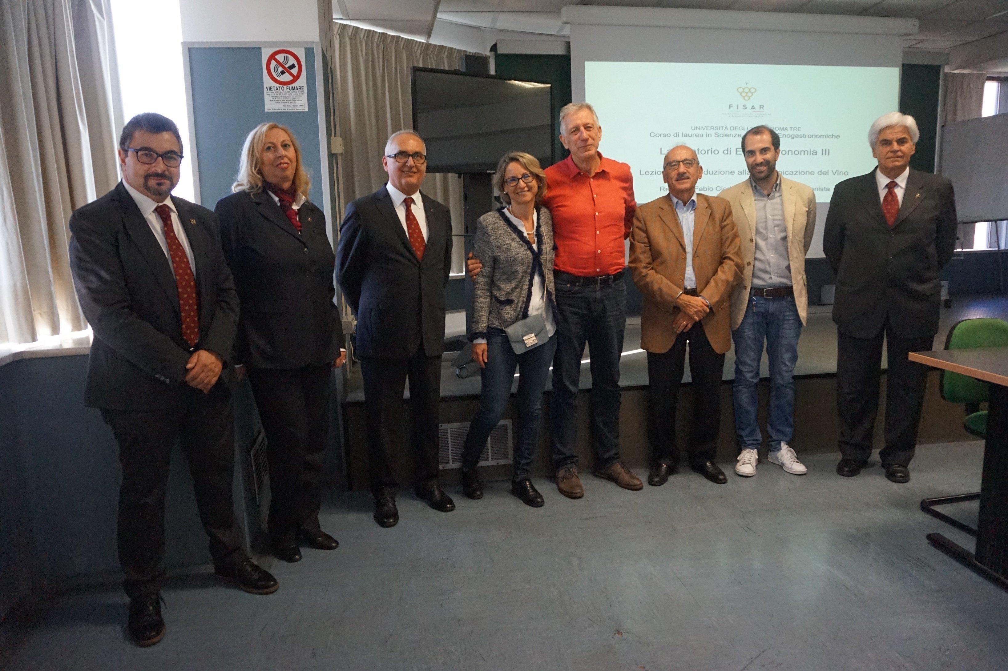 Staff Fisar e del Dipartimento di Scienze dell'Università Roma Tre (1)