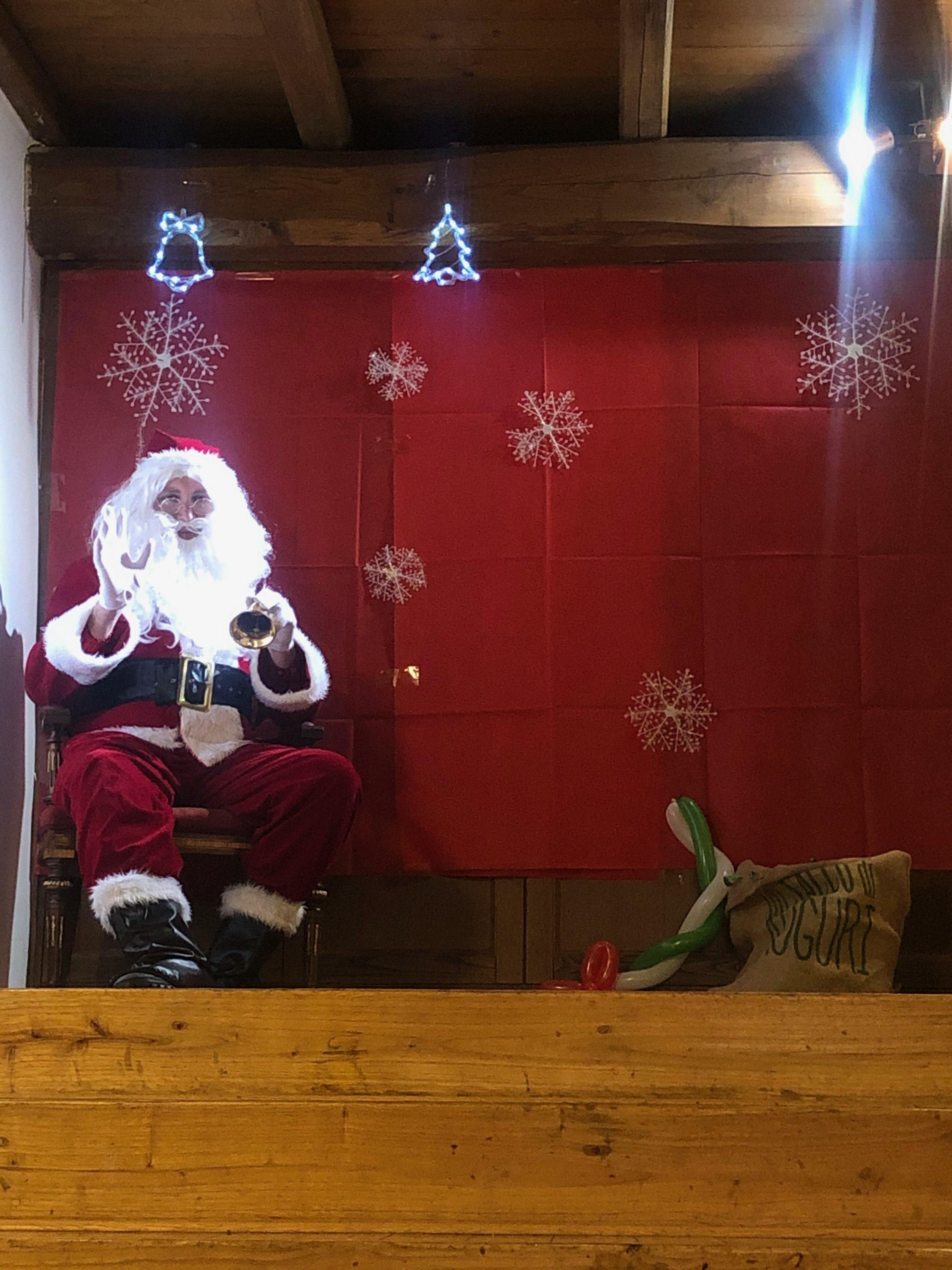Babbo Natale a Panettone Maximo