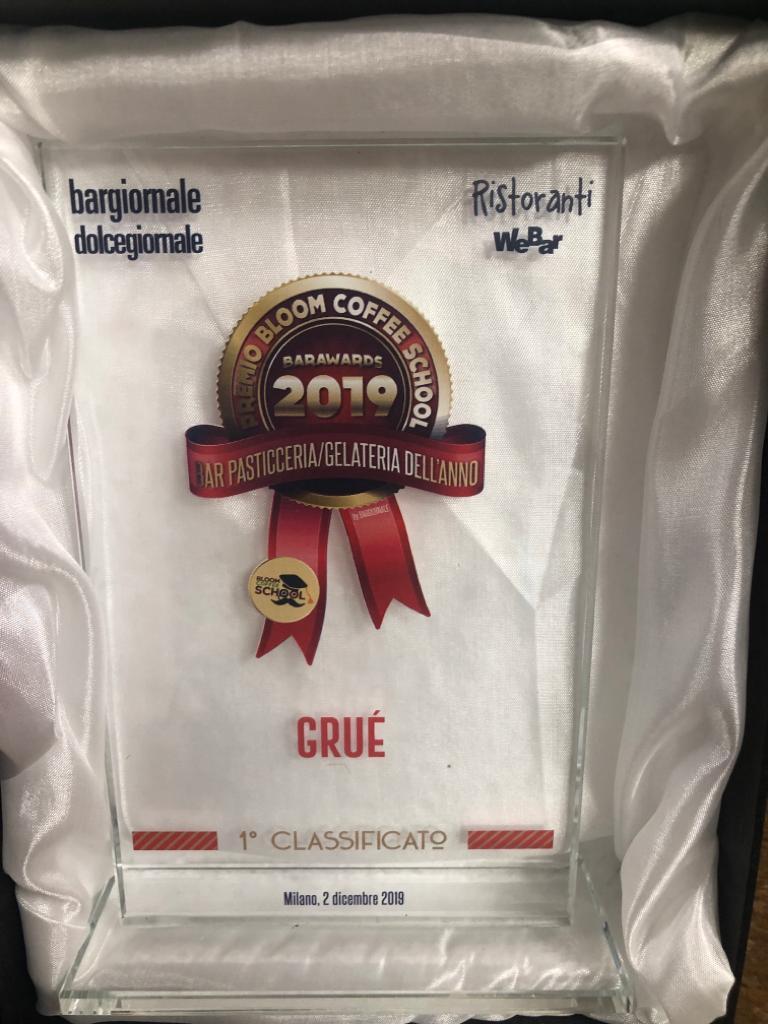 Premio Barawards 2019 - miglior pasticceria Gruè2 (2)