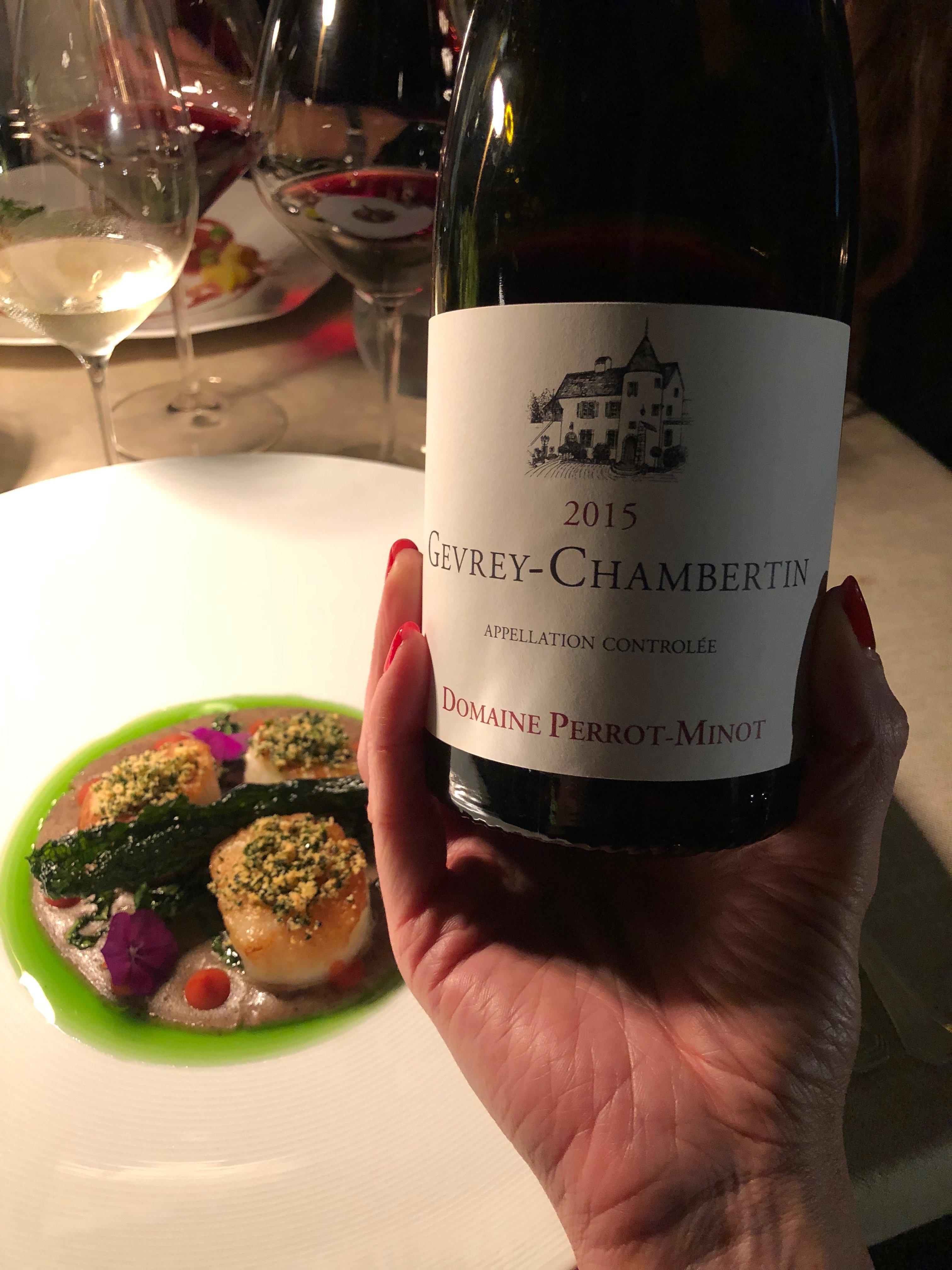 Gevrey-Chambertin 2015 del Domaine Perrot-Minot