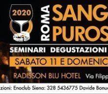 Il Sangiovese Purosangue a Roma, edizione 2020