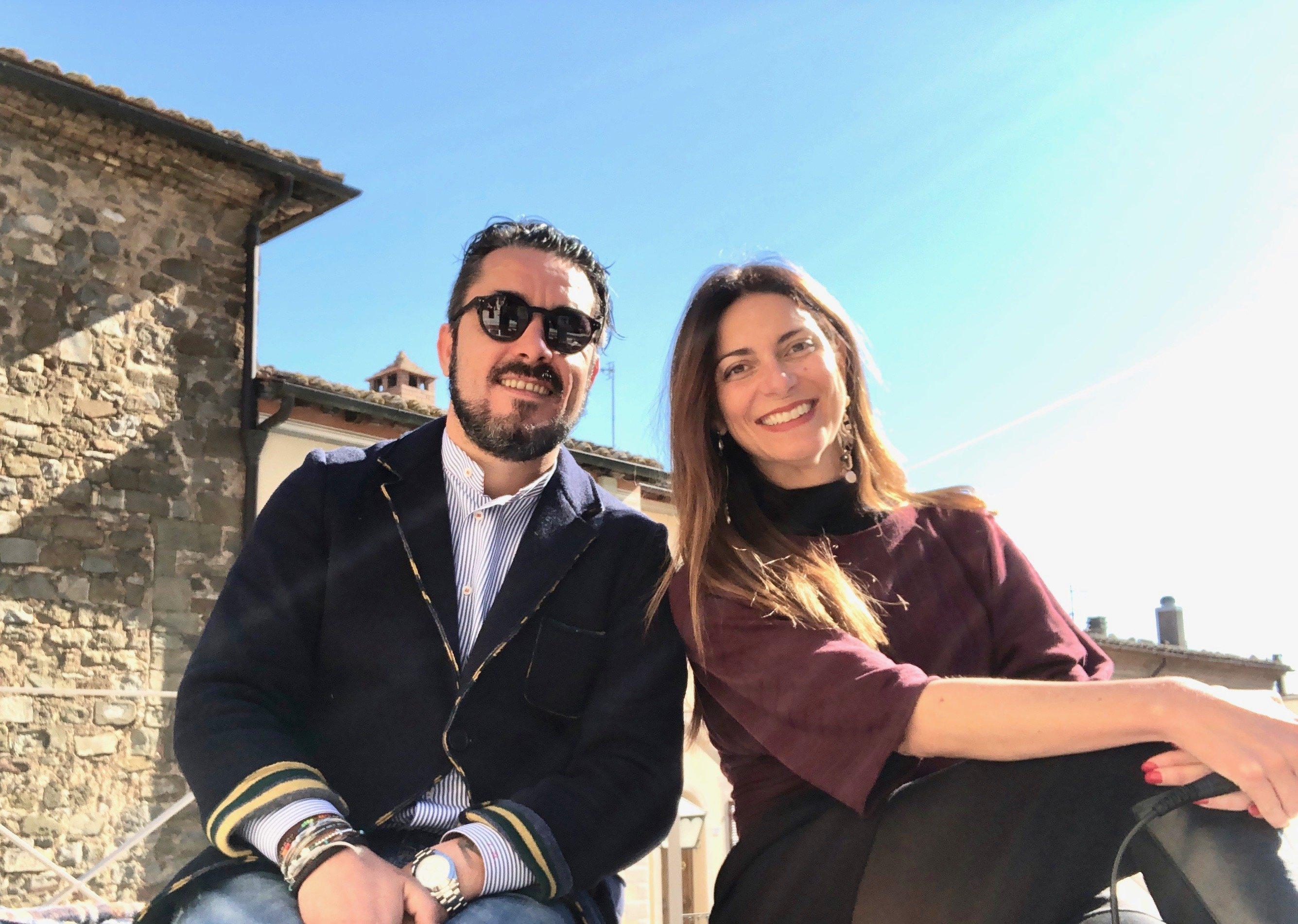 Luca Martini e Chiara Giannotti