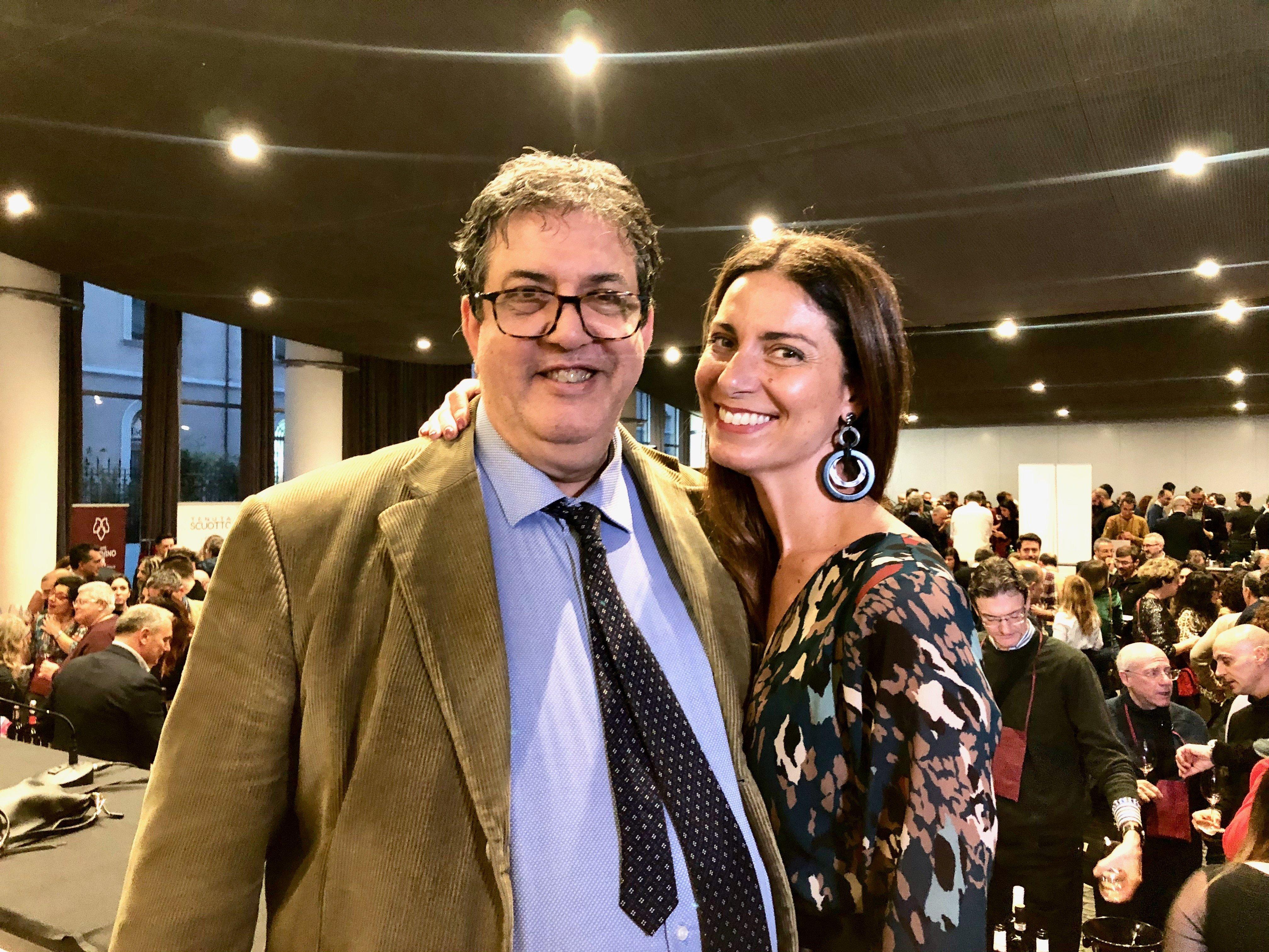 Luciano Pignataro e Chiara Giannotti
