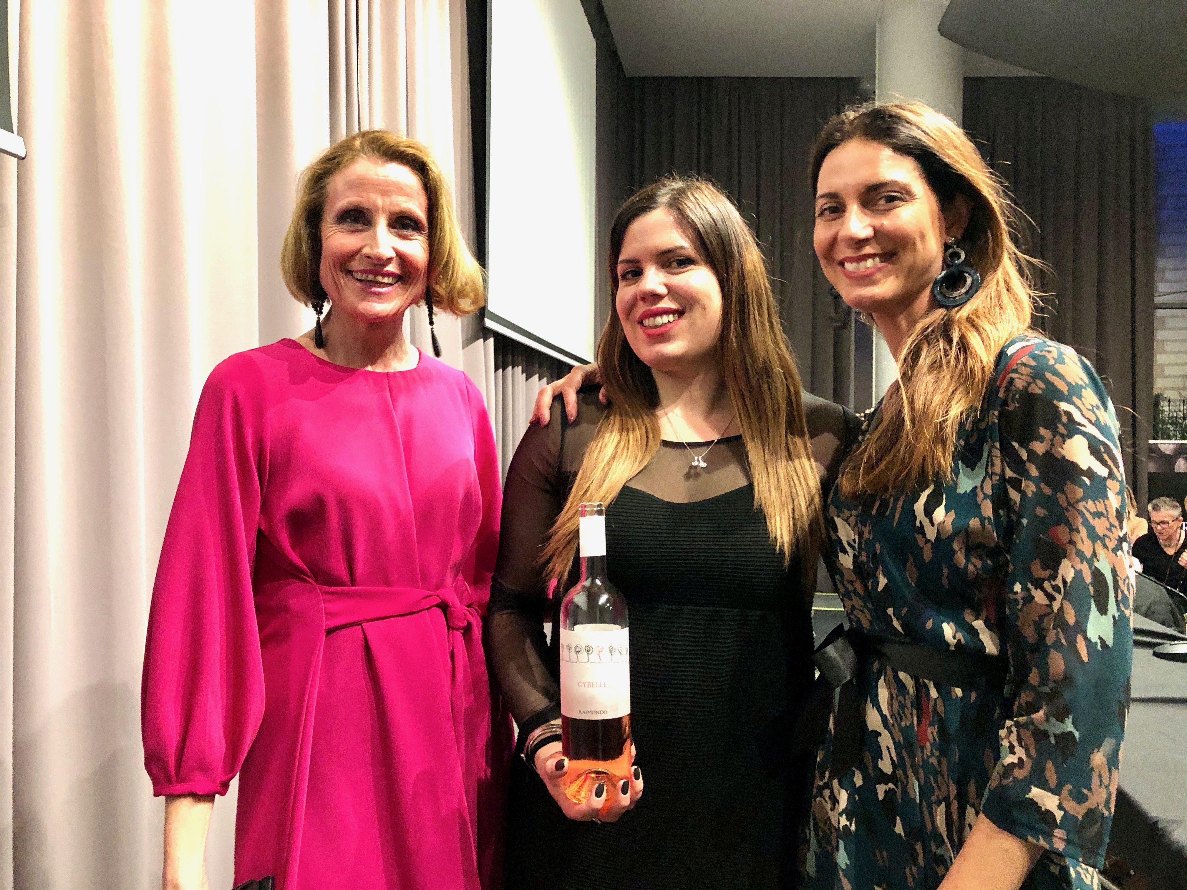 Michela Donati con Saula Giusto e Chiara Giannotti
