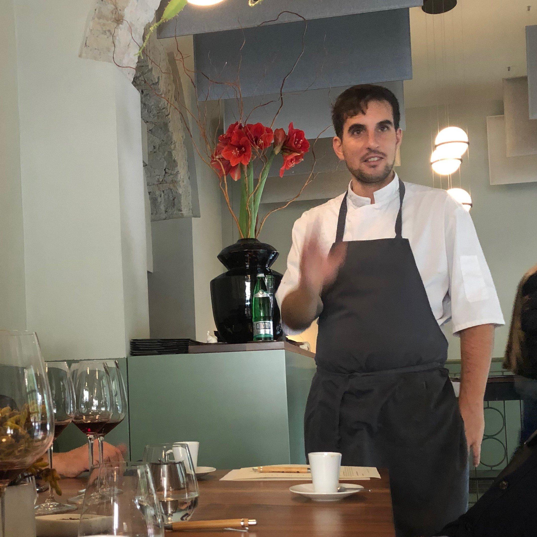 Antonio Ziantoni Chef Zìa Restaurant