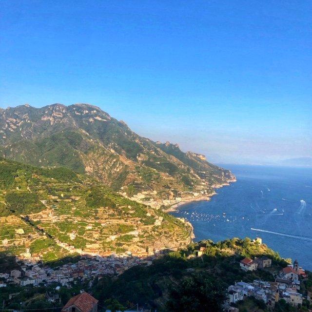 Vista della Costiera Amalfitana da Ravello