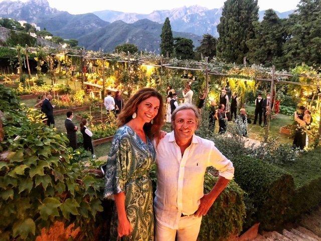 Chiara Giannotti con Filippo La Mantia ospite della Serata