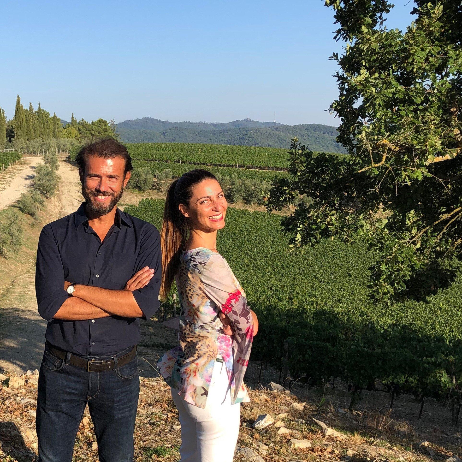 Chiara Giannotti con Andrea Orsini