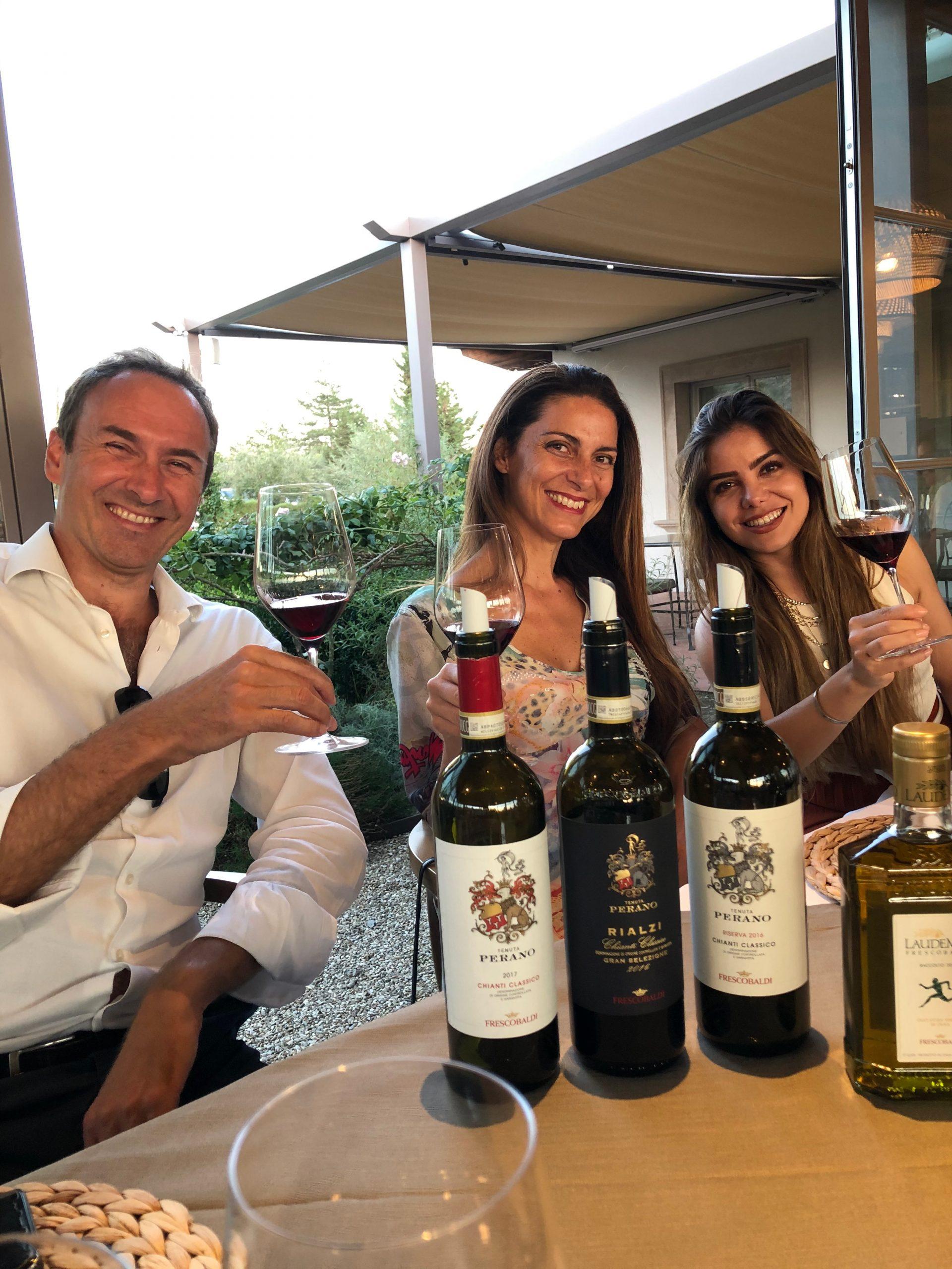 Chiara Giannotti con Davide Contucci e Anais Cancino